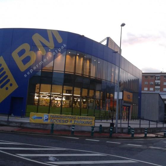 Supermercado BM en Muskiz