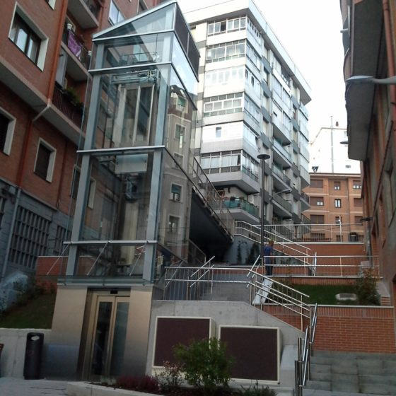 Accesibilidad entre calles en Santurtzi