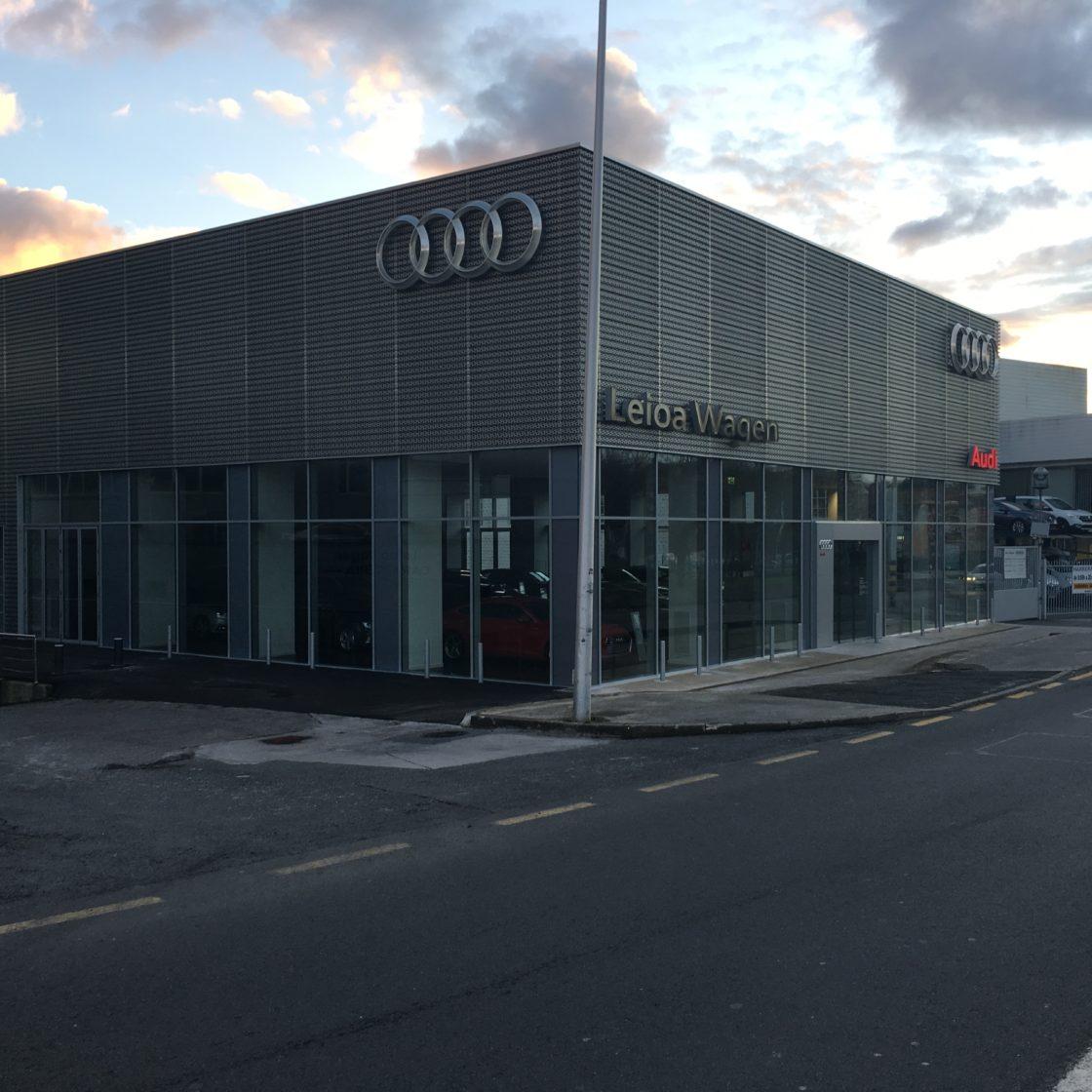 Audi en Leioa