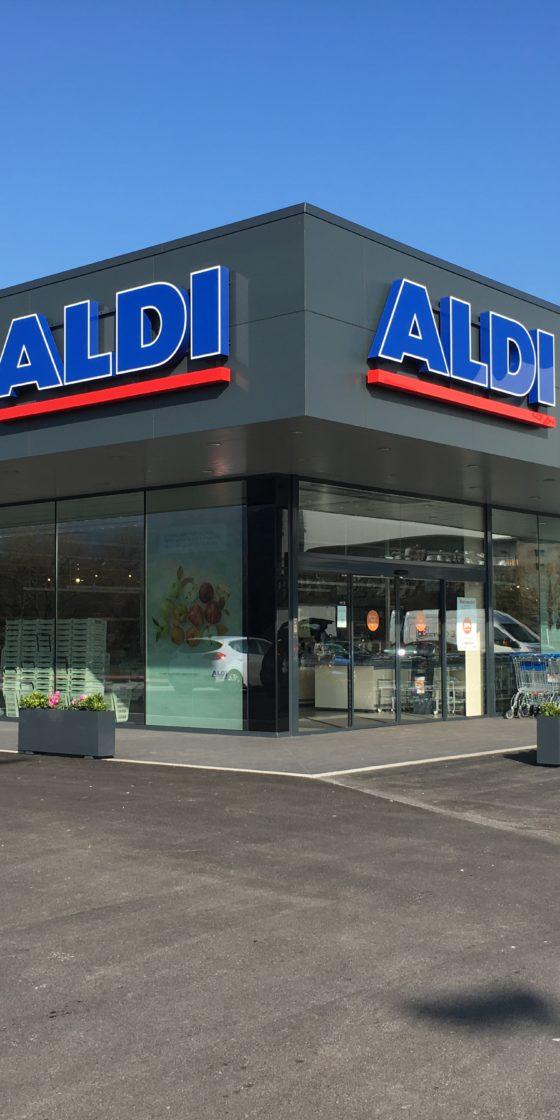 Supermercado ALDI en Iurreta
