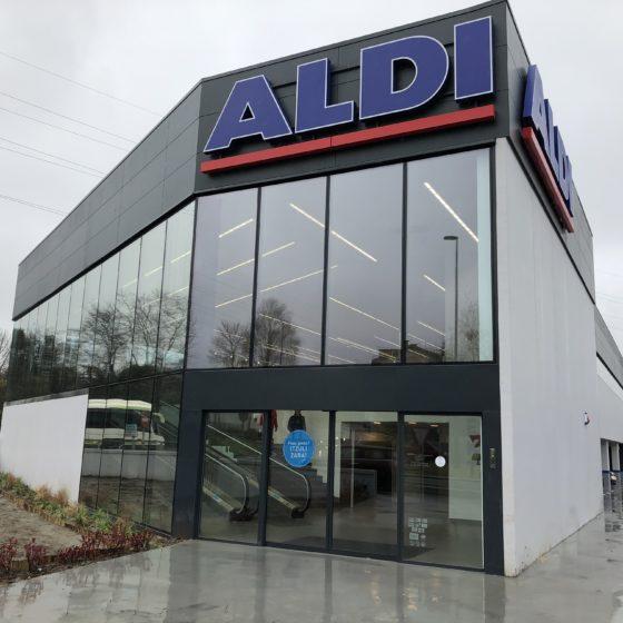 Supermercado ALDI en Oiartzun
