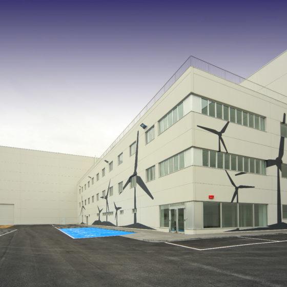Oficinas Haizea Wind en Zierbana